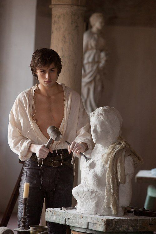 Douglas Booth as Romeo in Romeo and Juliet 2013