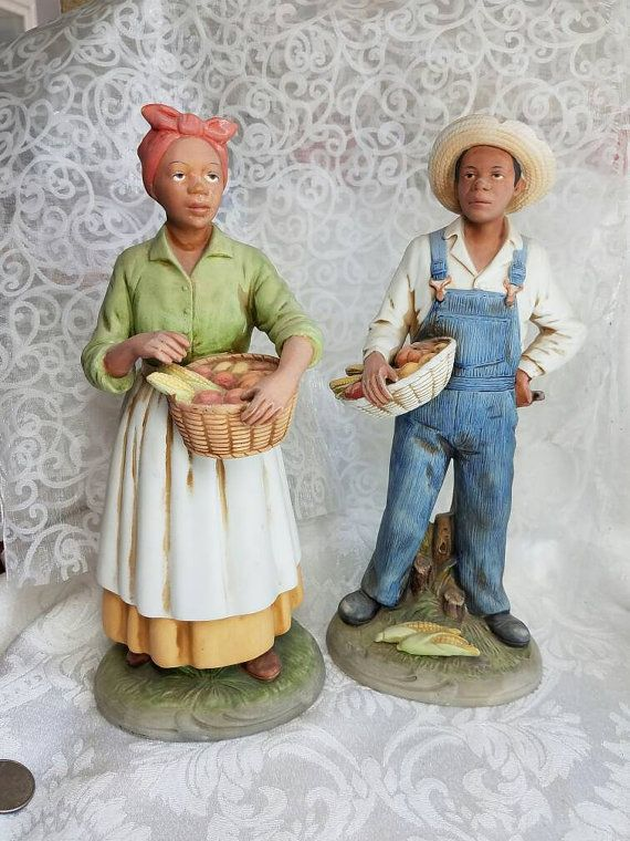 Homco Home Interiors African American Couple By Huldastreasures