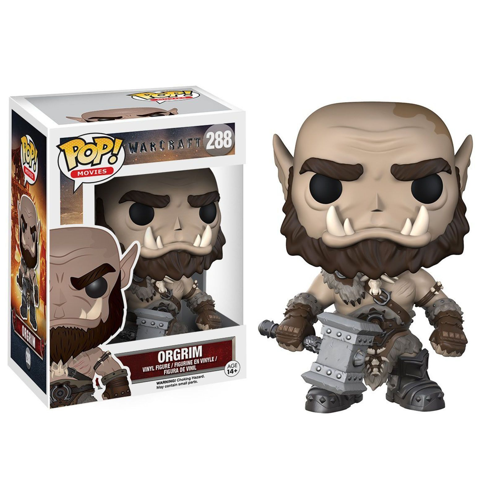 Funko World Of Warcraft Pop Orgrim Vinyl Figure Funko
