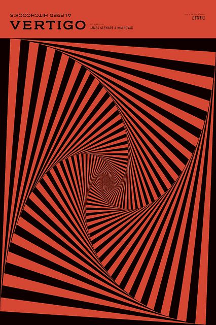 Vertigo Poster #filmposterdesign