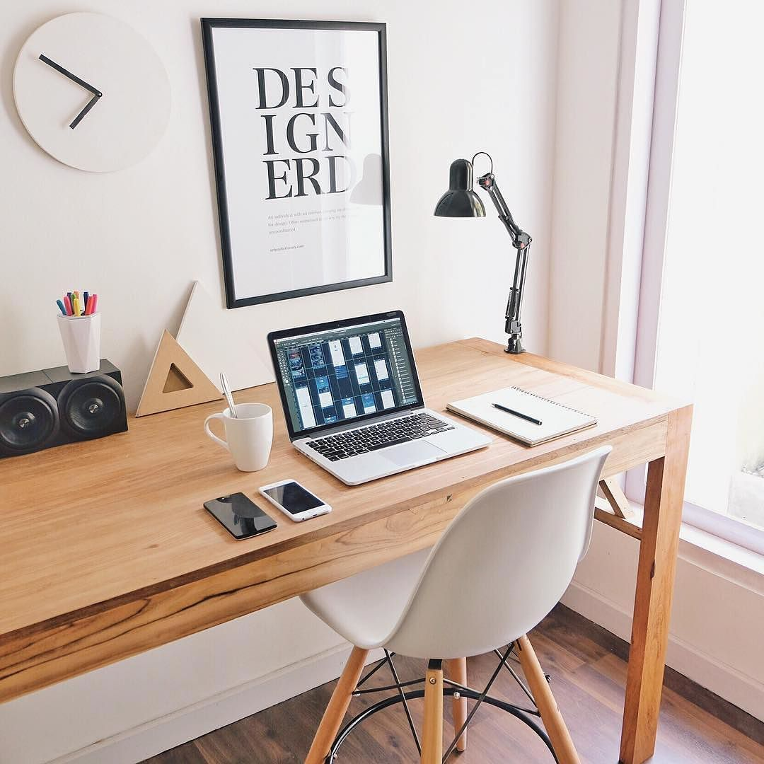 #minimal #setup #desk #workspace #