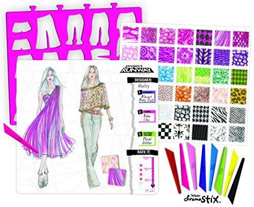 Project Runway Fashion Illustration Portfolio with Chroma Stix ...