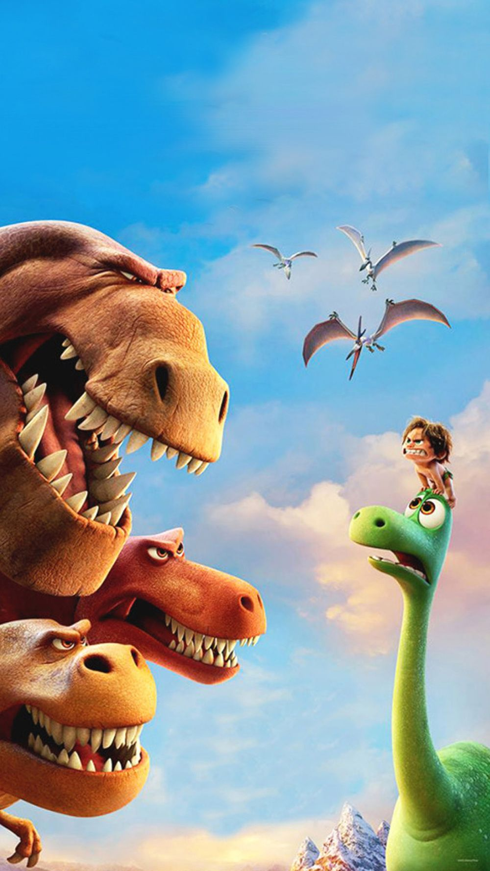 The Good Dinosaur Downloadable Wallpaper for iOS
