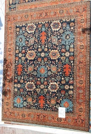 New Afghanistan Hand Knotted Antique Recreation Of 19th Century