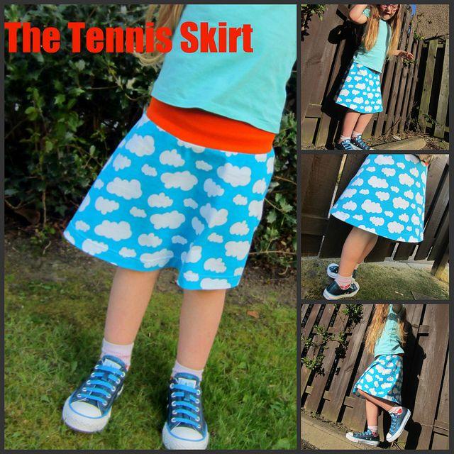 The Tennis Skirt | Nähen für Kids | Pinterest | Nähprojekte und Nähen