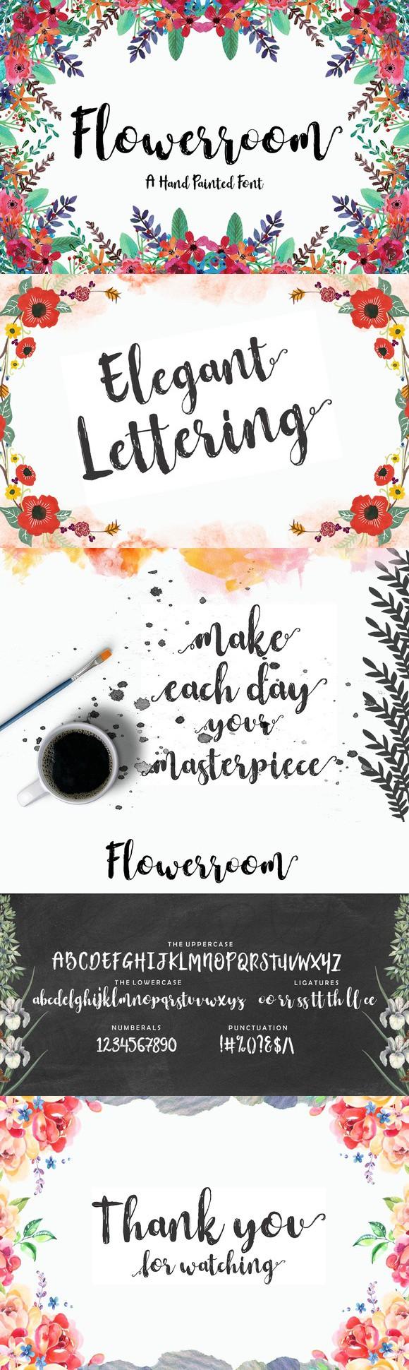 Flowerroom Script