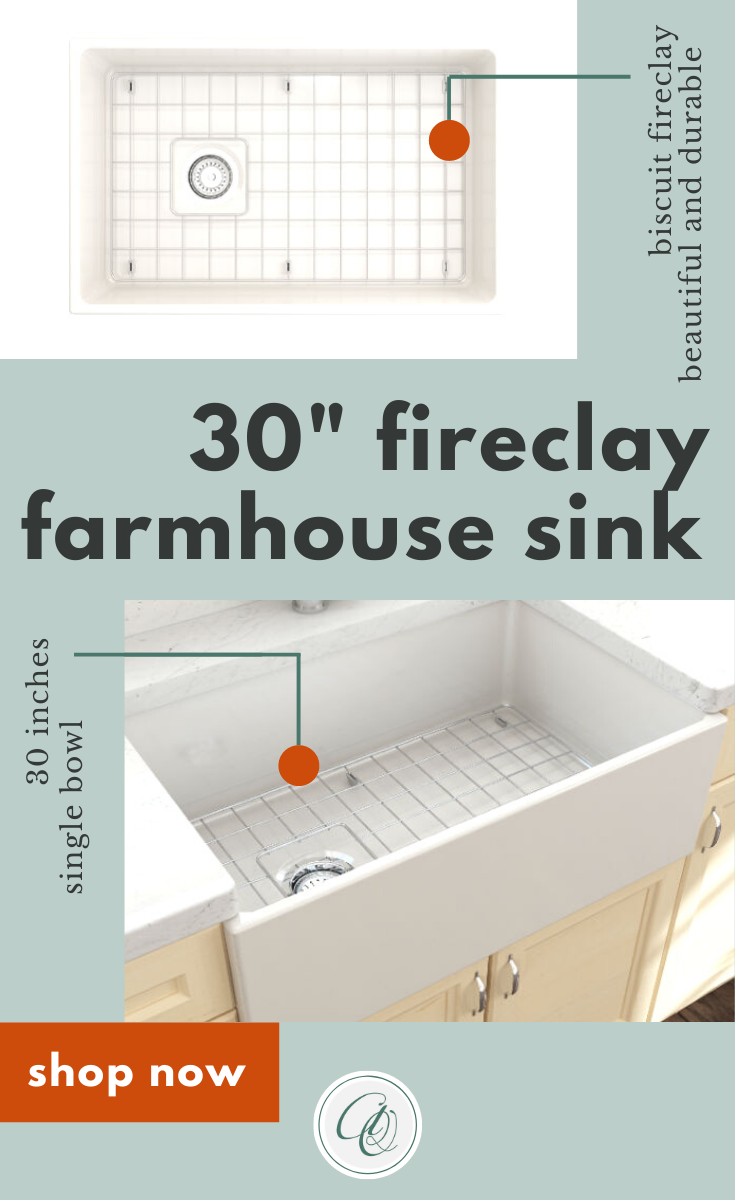 Bocchi Contempo 30 Biscuit Fireclay Single Bowl Farmhouse Sink W Grid In 2020 Fireclay Farmhouse Sink Farmhouse Sink Farmhouse Sink Kitchen