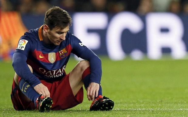 Messi enduring worst Clasico run of his life