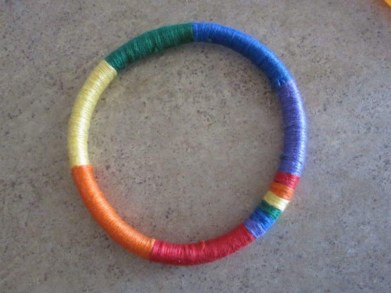thread bangles.