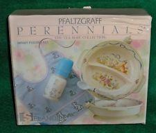 RARE Pfaltzgraff TEA ROSE Infant FEEDING SET *NEW BOX*