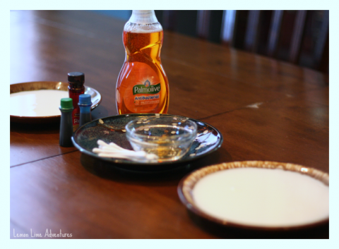 Magic Milk Palmolive Dish Soap