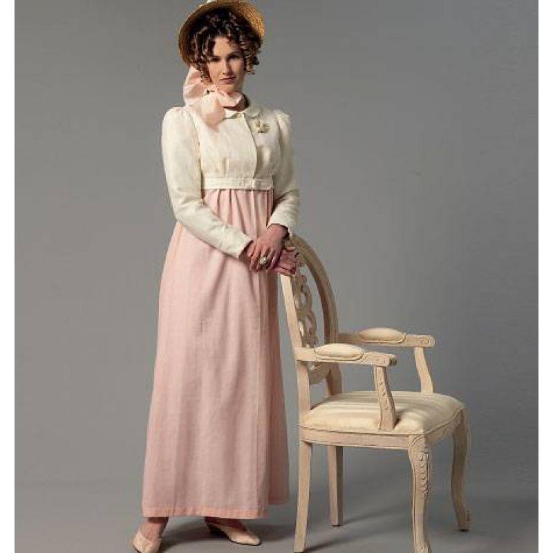 Schnittmuster kleid historisch