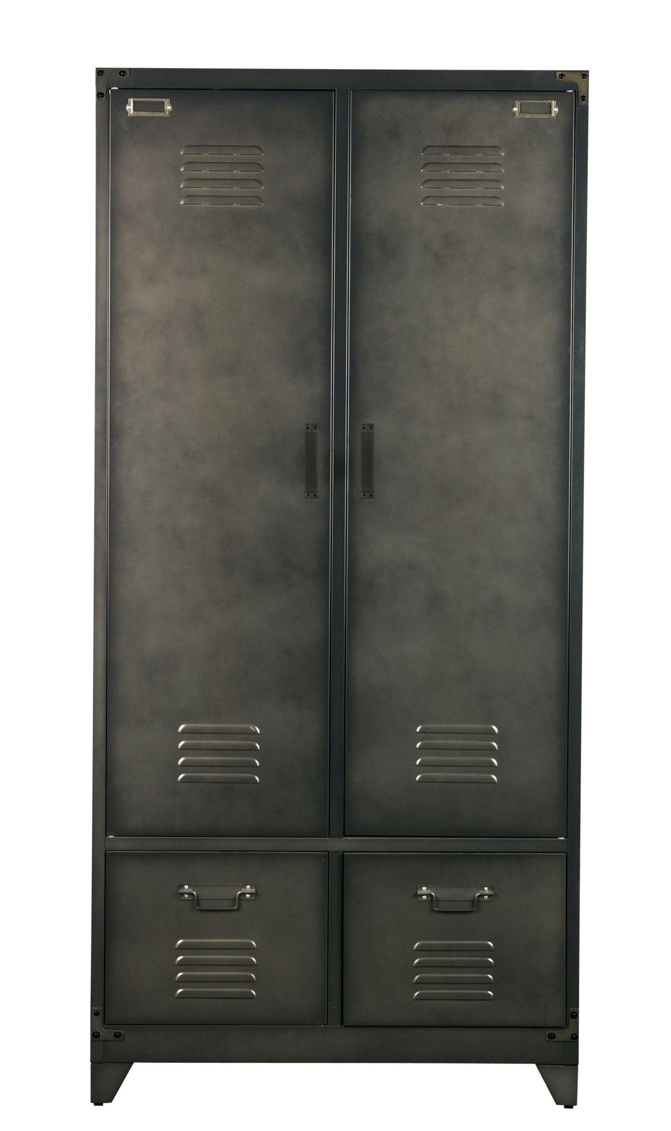 Stellingkast Diepte 50 Cm.Vtwonen Locker Kledingkast Metaal Slaapkamer Pinterest Home
