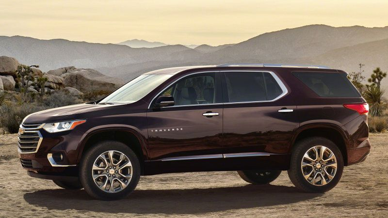 The 2018 Chevy Traverse Is Roomier And Looks Stronger Chevrolet Traverse Chevy Suv Chevy Tahoe Ltz