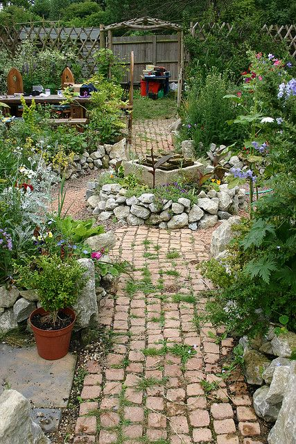 This Says That Your Garden Pathway Does Not Have To Be Weed Free