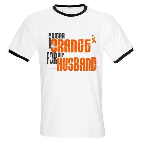 Recr Light T Shirt I Wear Orange For My Husband 6 Light T Shirt By Awarenessgiftboutique Cafepress T Shirt How To Wear Shirts
