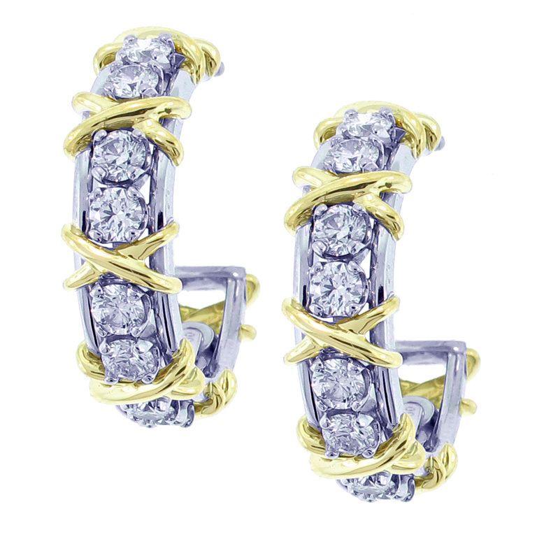 Schlumberger Earrings