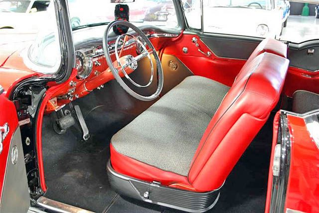 1955 Oldsmobile 88 Hardtop Interior 1 View | Classic cars, post-war