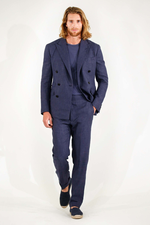 Ralph lauren spring menswear fashion show man style and menus