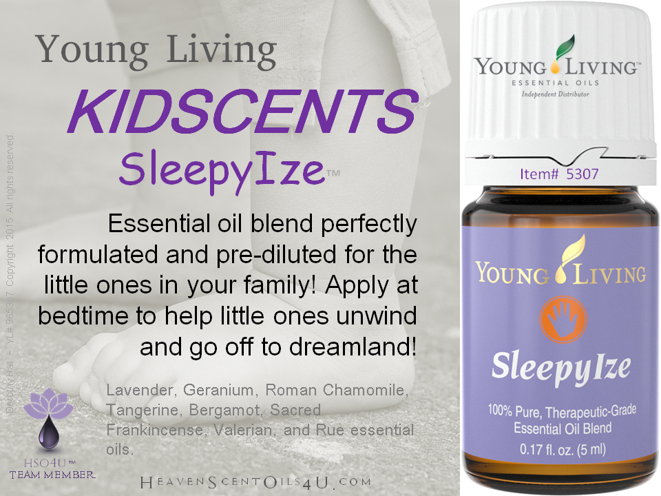 Young Living Essential Oils KidScents SleepyIze YLEO