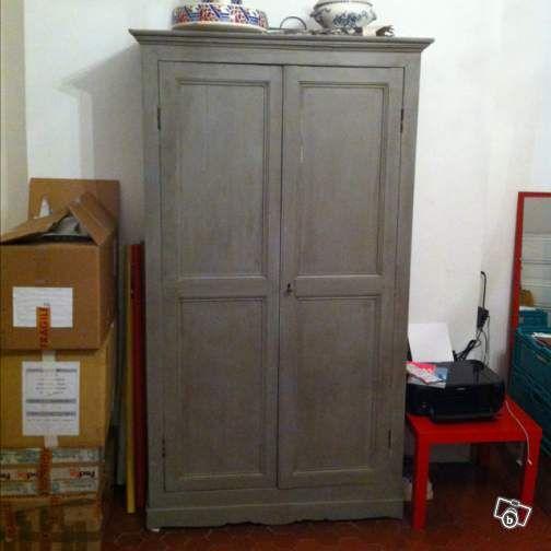 armoire grise ameublement bouches du rh ne the good corner pinterest armoires. Black Bedroom Furniture Sets. Home Design Ideas