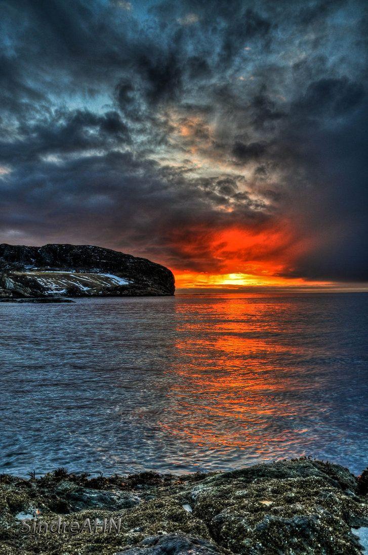 ♥ Skivika Sunset by *SindreAHN