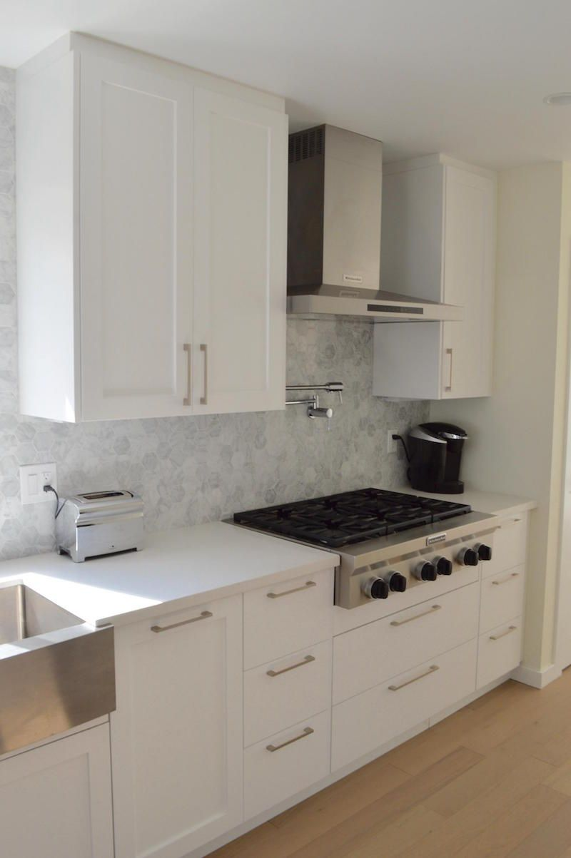 todd and his wife did not use ikea s doors on their base cabinets they chose shaker like doo on kitchen cabinets not white id=25298