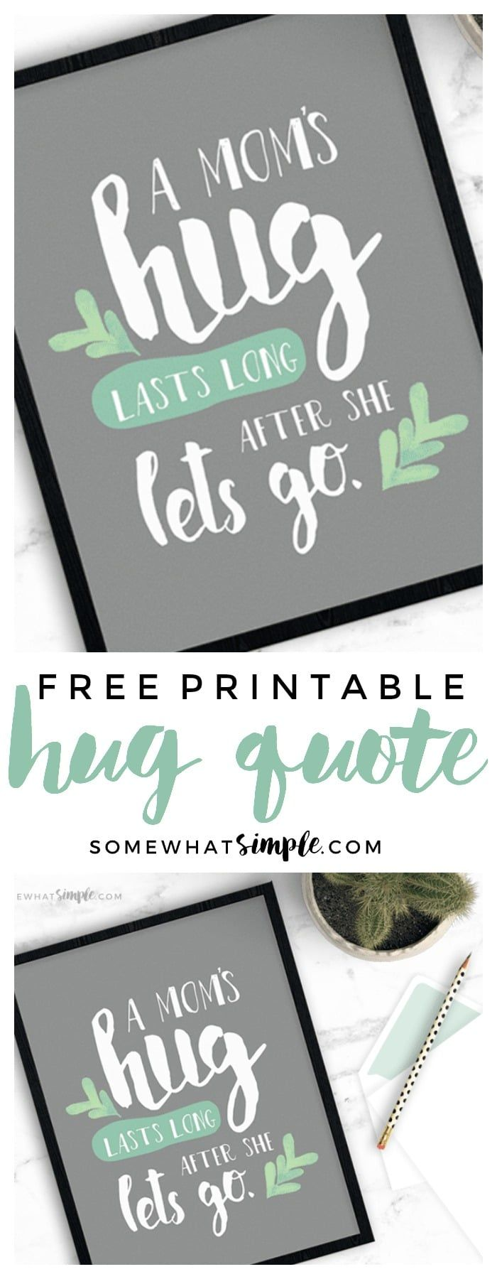 Your Brain on Hugs + Free Printable is part of Printables, Free printables, Sign stencils, Gifts for mom, Fun printables, Craft gifts - Hugs are a simple way to show affection, but they actually do so much more than that!