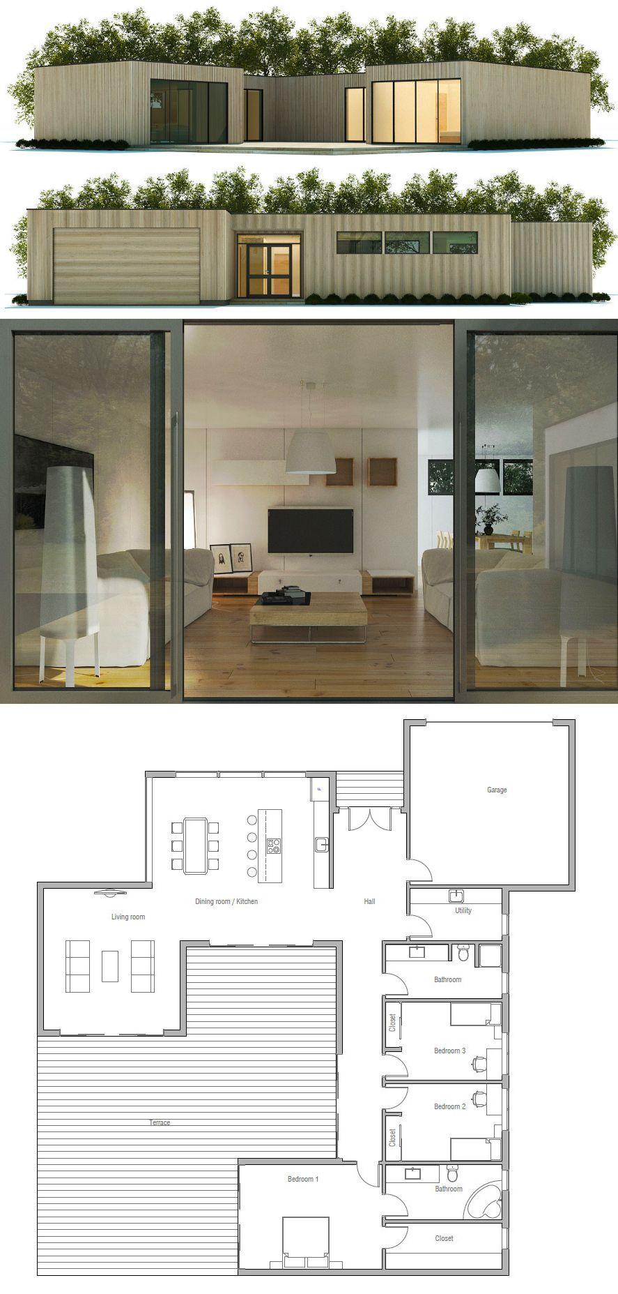 Beach house plans casa moderna also proyectos que intentar pinterest modern rh in
