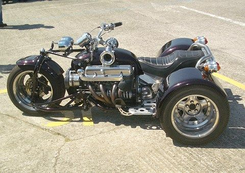 V8 trike by Ivor Knapp - no gearbox, direct drive | things I like