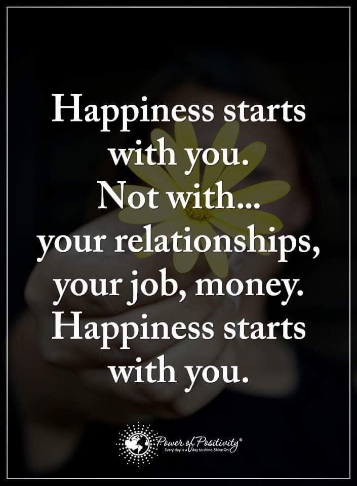 True happiness comes from within. | Quotes inspirational ...