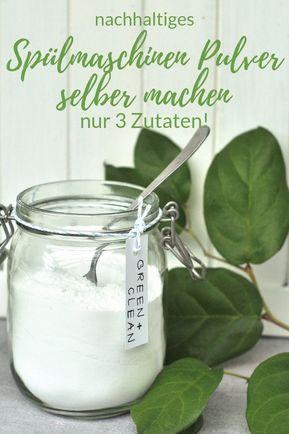 Photo of Spülmaschinen Pulver selber machen Smillas Wohngefühl
