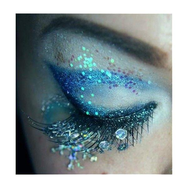 Snow Queen Makeup Creative Eye Makeup Mermaid Makeup Fantasy