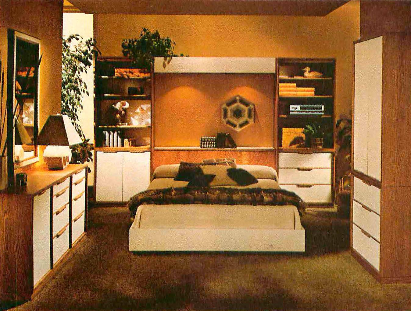 That '70s Bedroom - Flashbak | Retro bedrooms, Retro ...