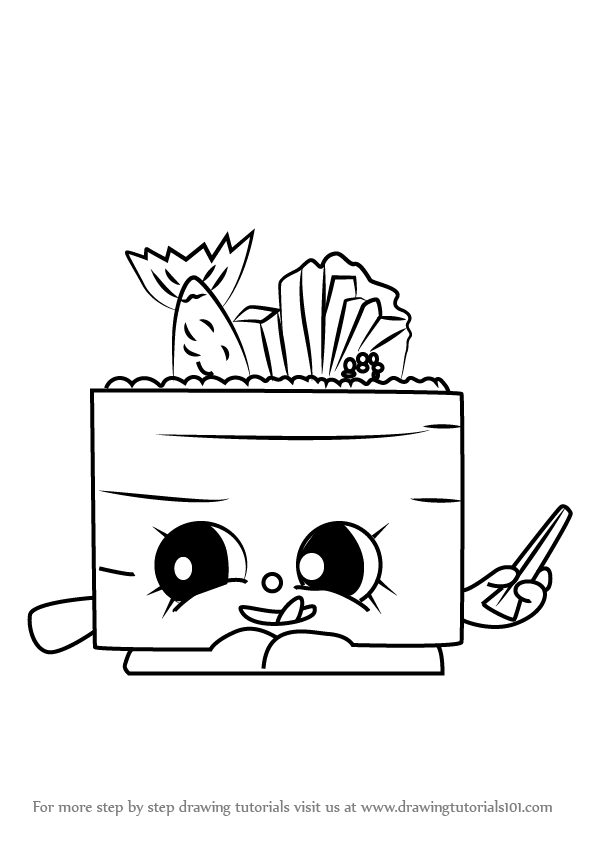 draw shopkins suzi sushi | Shopkins Coloring Sheets | Pinterest ...