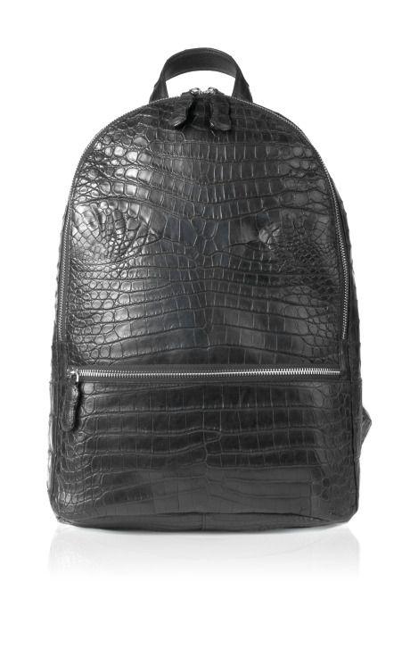 Samson Backpack In Black by Celestina for Preorder on Moda Operandi