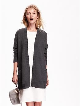 Open-Front Cocoon Cardigan | Old Navy | My 1st Capsule Wardrobe ...