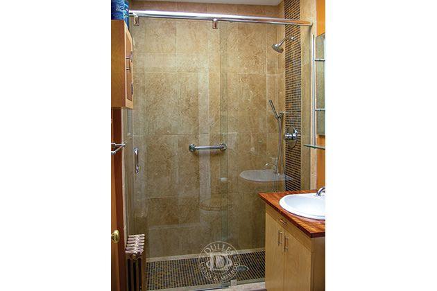 This Glass Shower door has: Hydro Slide Frameless Shower Doors ...