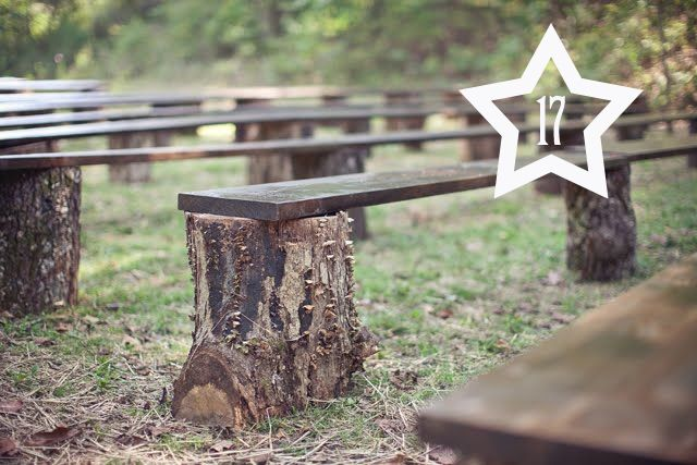 50 Ways To Upcycle Tree Branches And Logs Circus Wedding