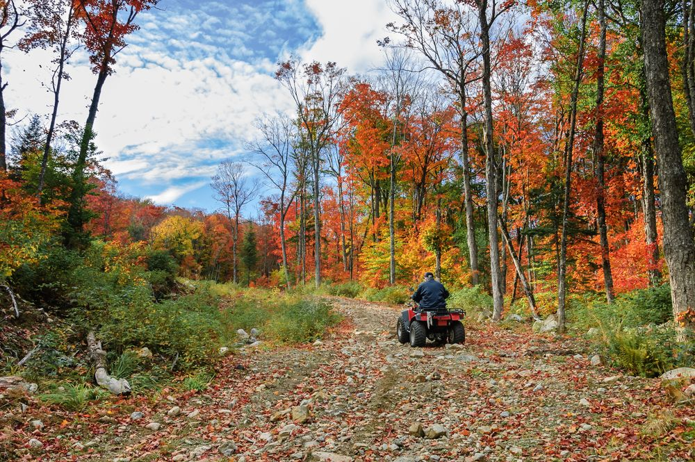 Bluff mountain adventures offers incredible atv trail