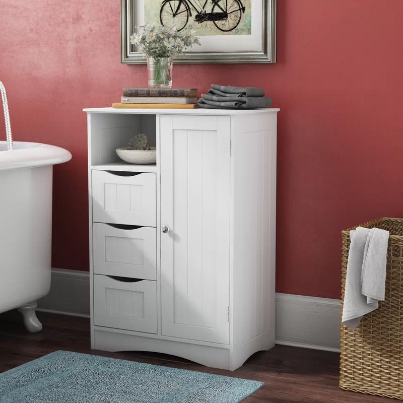 Ashland 22 05 W X 32 13 H X 13 39 D Free Standing Bathroom Cabinet Bathroom Standing Cabinet Bathroom Furniture Storage Cabinet