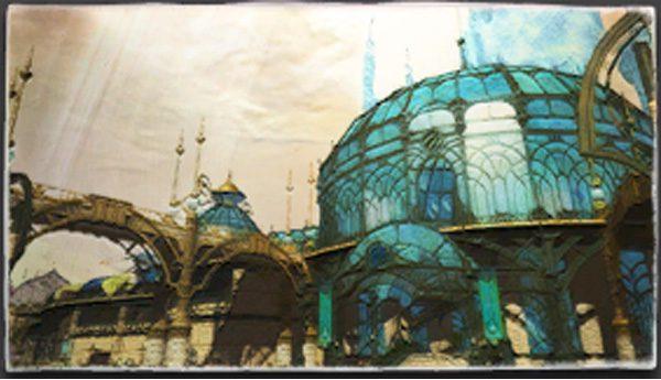 Painting Of The Rotunda Ffxiv Housing Painting Painting Art