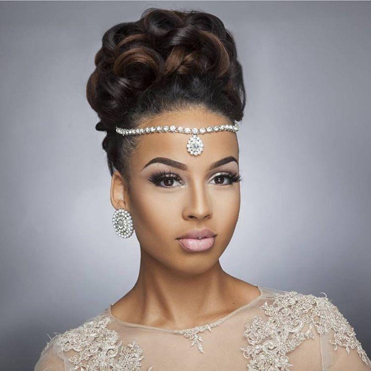 Beauty African American Updo Hairstyles Hair Styles Wedding Hairstyles