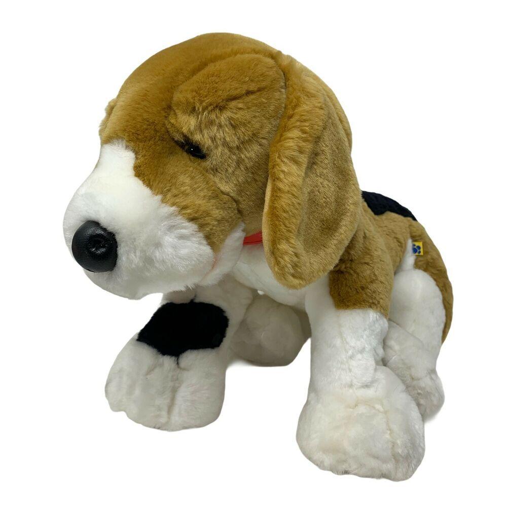 Build A Bear Plush Beagle Hound Dog Realistic Soft Stuffed Animal 14 Toy Babw Ebay In 2021 Plush Beagle Soft Stuffed Animals Hound Dog [ 1000 x 1000 Pixel ]