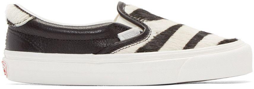White Zebra Og Slip-on 59 Lx Sneakers