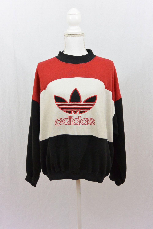 Vintage Adidas Sweatshirt Size Large Rare Tumblr Clothing Etsy Vintage Adidas Sweatshirt Sweatshirts Vintage Adidas [ 1500 x 1000 Pixel ]