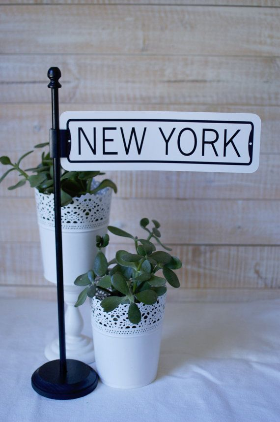 Street Sign Post Table Number Holders By Thestandshop On Etsy