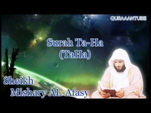 Mishary al-afasy Surah TaHa ( full ) with audio english