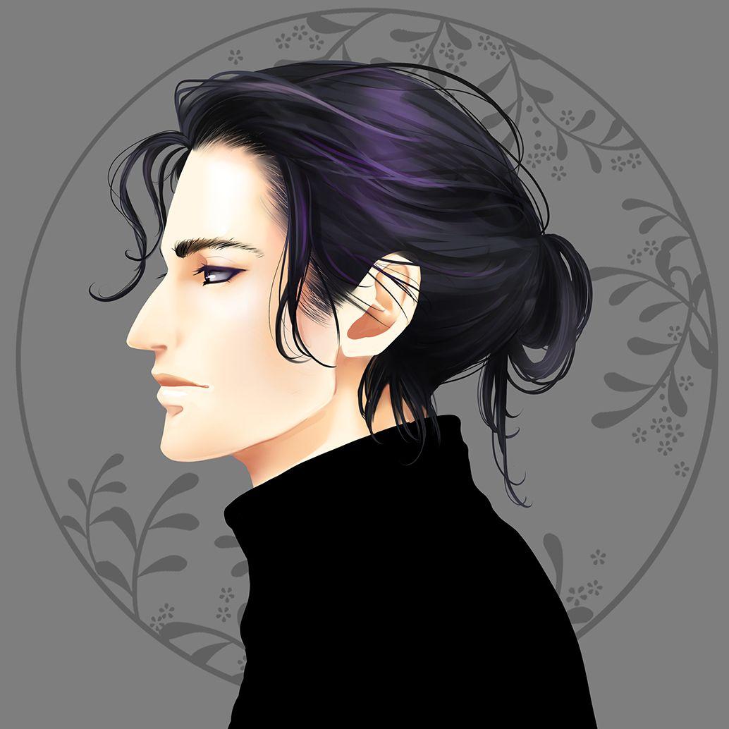 Severus Curved Nose Long Hair Harry Potter Anime Snape Harry Severus Snape Fanart