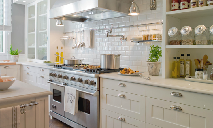 Kitchens Charcoal Gray Walls Ivory Kitchen Cabinets